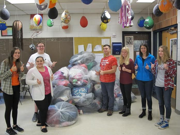Red Cross Clothing Drive is A Success