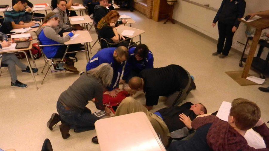 Medical Safety Team Shows Their Skills