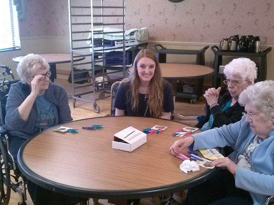 NHS hosts game day at LifeCare Center
