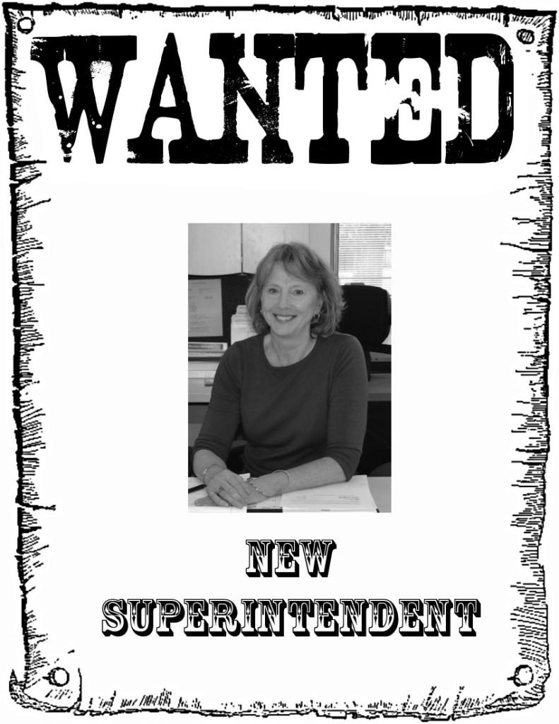 Wanted: New Superintendent