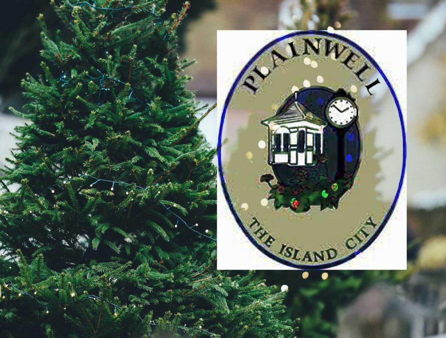 Plainwell gets festive with downtown tree lighting