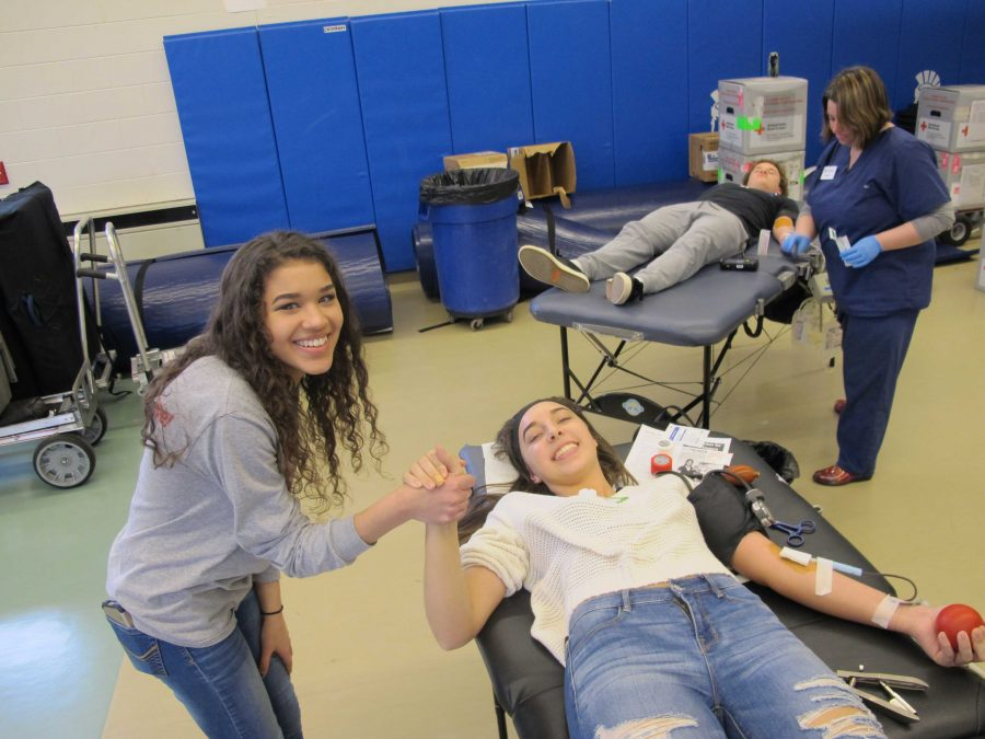 Red Cross blood drive allows students to skip class, save lives