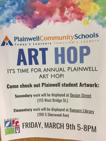 Art Hop Is making Plainwell POP.