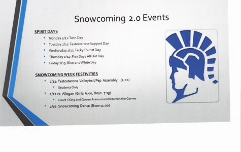 Snowcoming Schedule 2.0