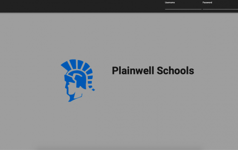 Plainwell Schools Buzz Login Screen.