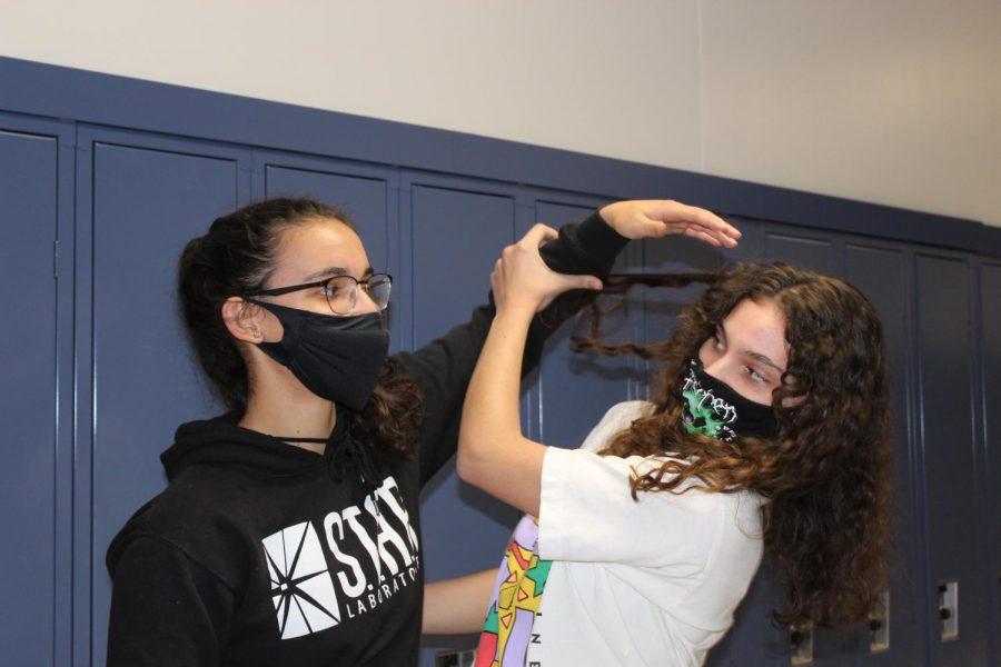 Siblings at Plainwell High School