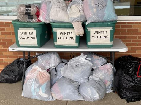 Clothing Drive Bins