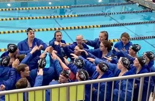 Swim Team Senior Night